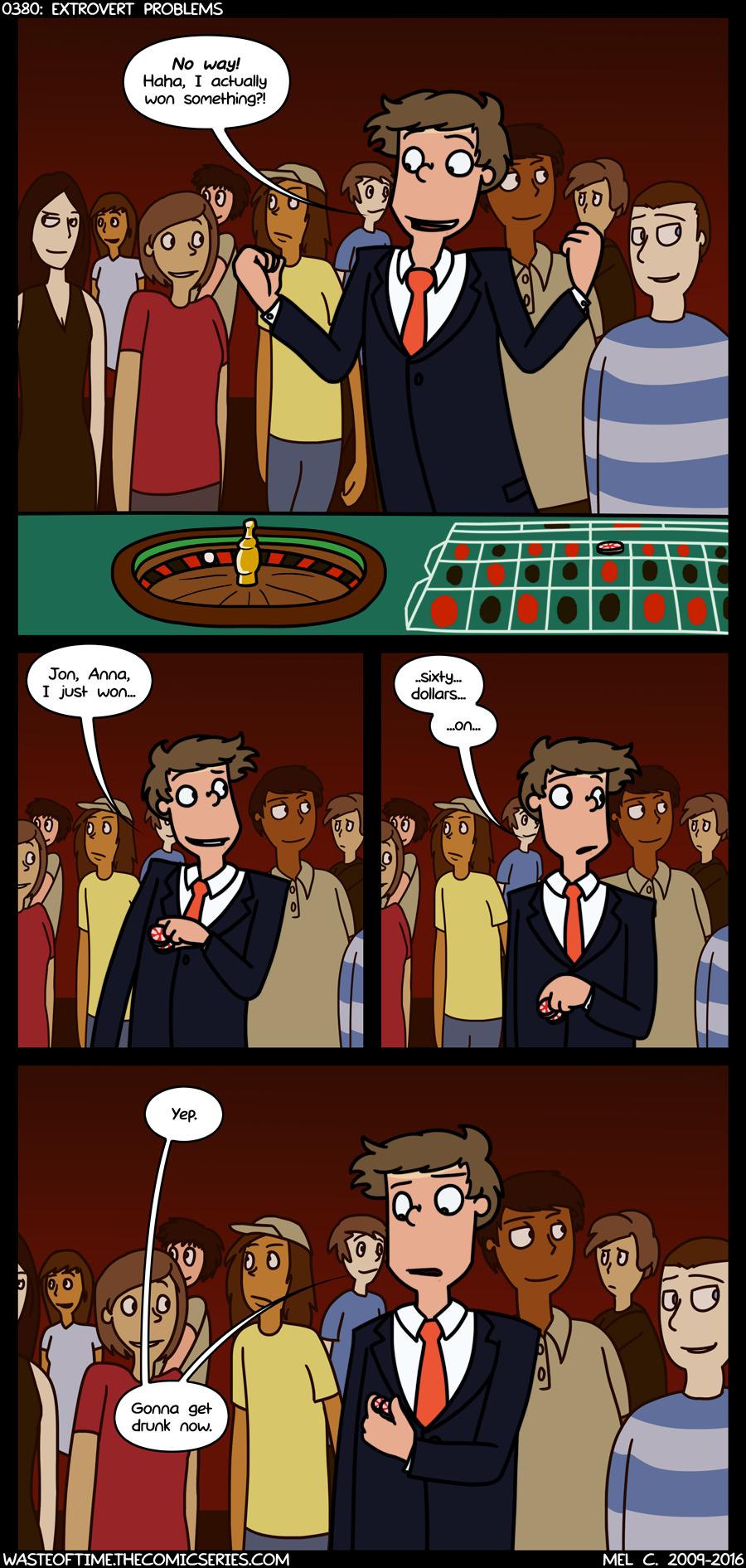 0380: Extrovert Problems