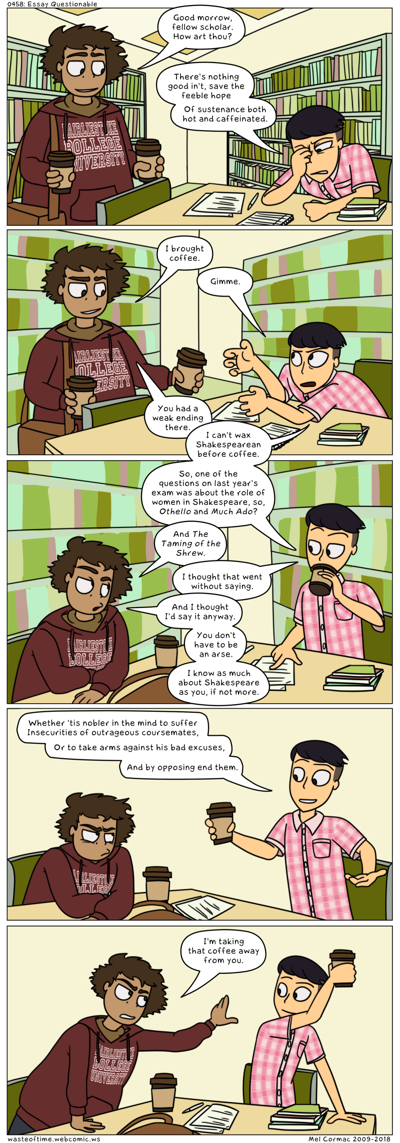 0458: Essay Questionable